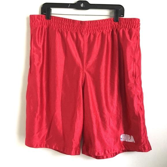 Vintage NBA Basketball Shorts XL Pockets